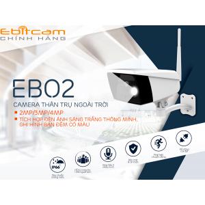 Camera ngoài trời ebitcam EBO2 ( 2MP ) – Có ánh sáng trắng
