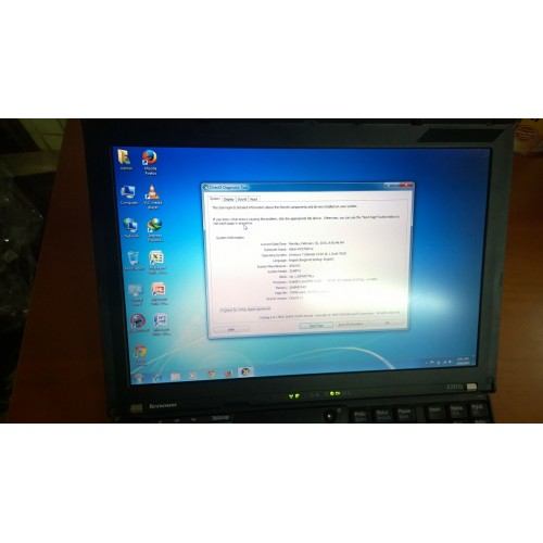 Lenovo thinkpad X201s, core i7-640L