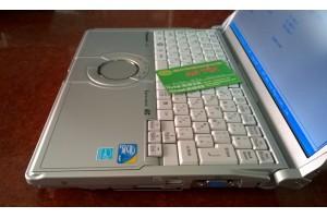 Panasonic CF-N8, mini siêu nhẹ, chạy mượt